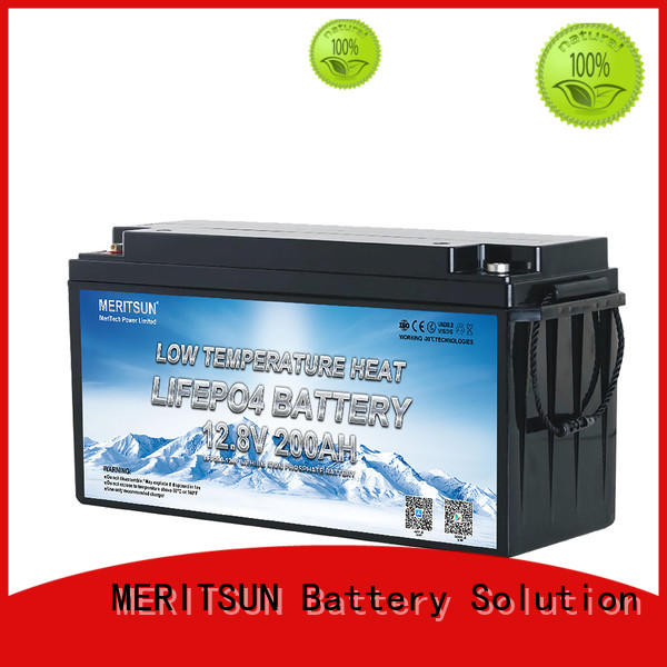 MERITSUN wholesale low temperature lithium ion battery suppliers for robot