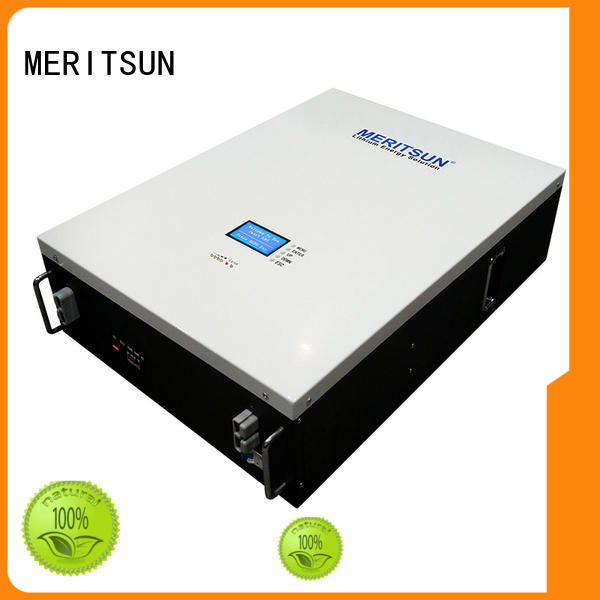 MERITSUN durable house battery backup customized for buildings