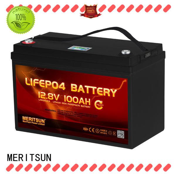 MERITSUN solar lithium battery price wholesale for villa