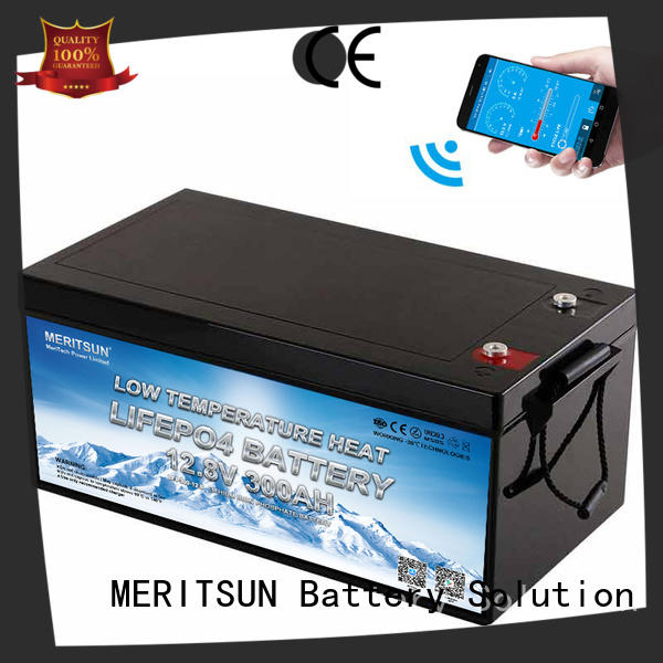 MERITSUN high-quality lithium battery low temperature factory for robot