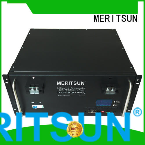 MERITSUN reliable electrical energy storage systems supplier for base transceiver station