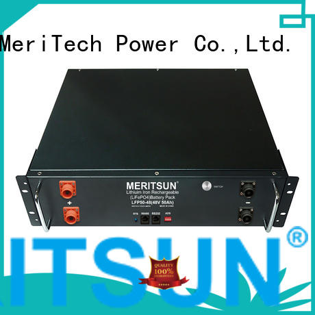 MERITSUN telecom commercial energy storage systems customized for residential