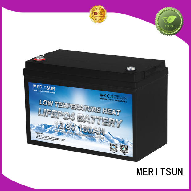 MERITSUN low temperature lithium battery company for robot