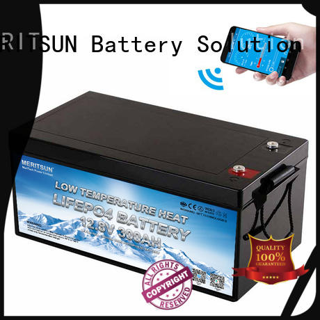 MERITSUN high-quality low temperature lithium battery supply for car