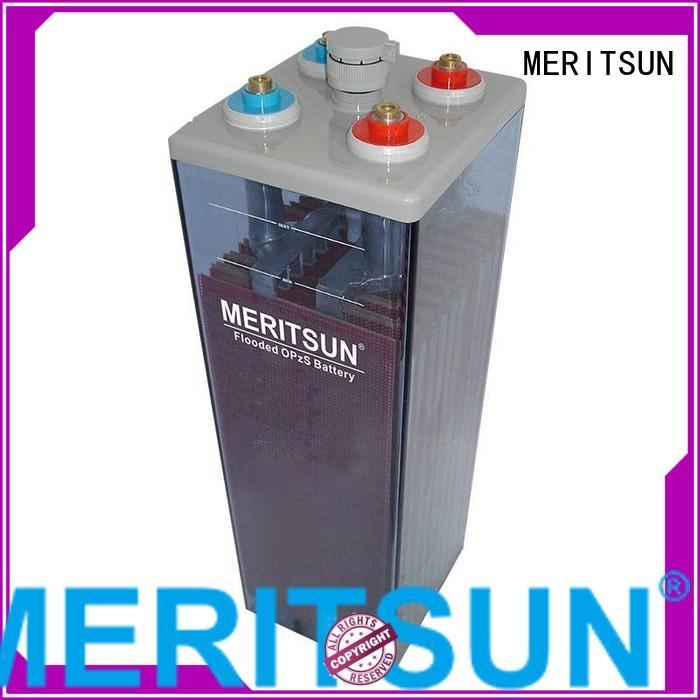 vrla gel battery battery vrla opzs MERITSUN Brand company