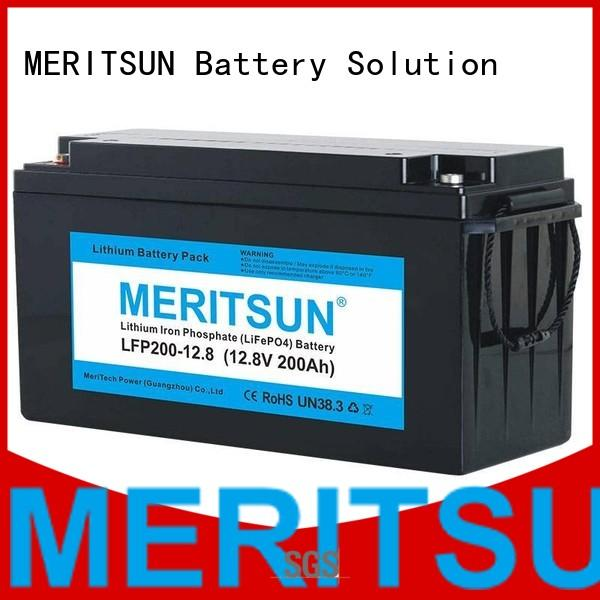 Wholesale lipo bluetooth lifepo4 battery MERITSUN Brand
