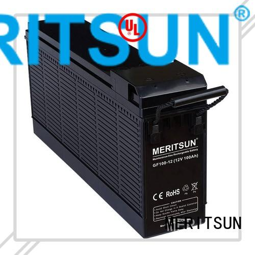 vrla gel battery tubular gel MERITSUN Brand opzv battery