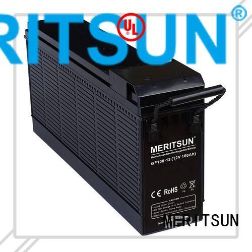 vrla gel battery tubular gel MERITSUN Brand opzv battery