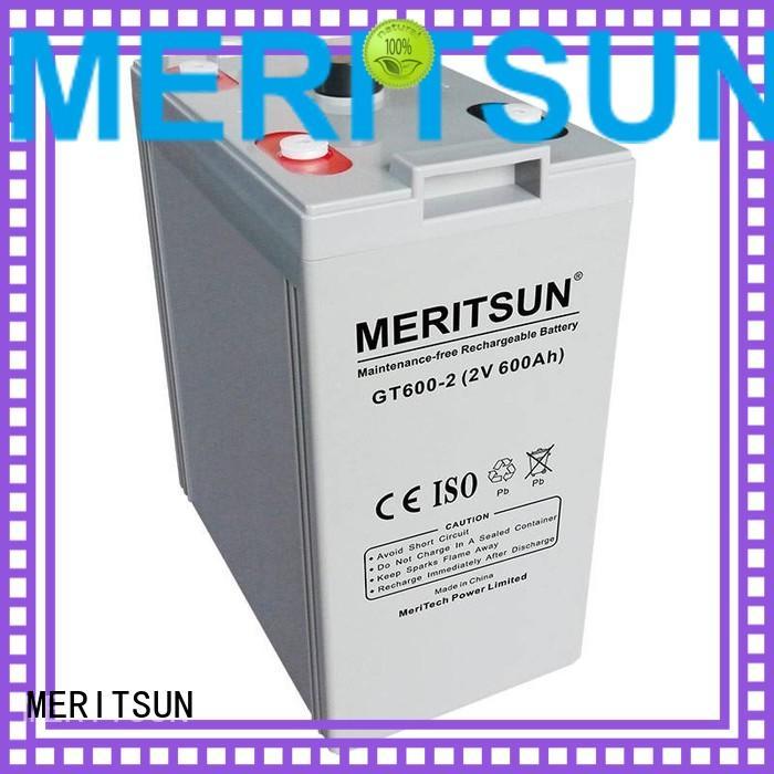 MERITSUN Brand opzs terminal telecom vrla gel battery