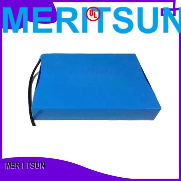 one cycle solar street light lithium battery MERITSUN Brand