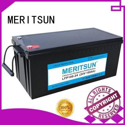 app bluetooth control lithium iron battery series for villa MERITSUN