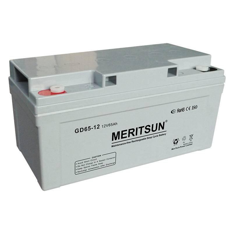 MERITSUN Deep Cycle Battery VRLA / GEL / OPzV / OPzS Battery image9