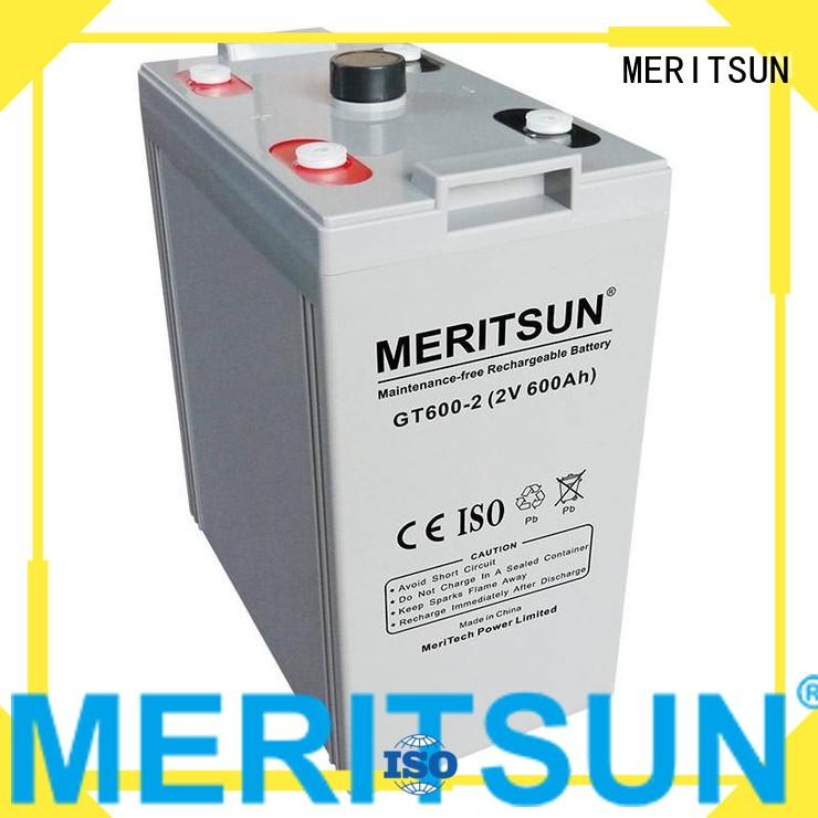 Hot opzv battery deep MERITSUN Brand