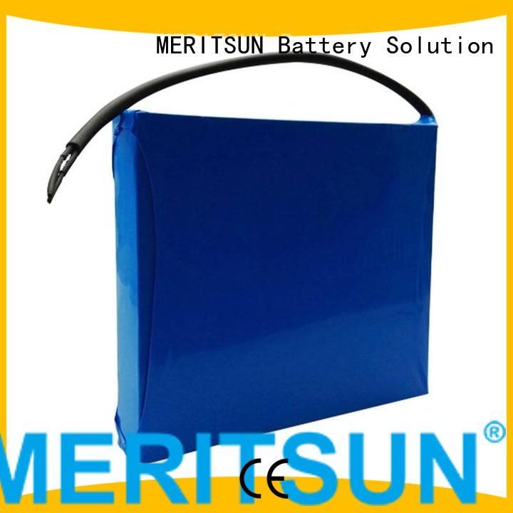light solar solar street light lithium battery ion MERITSUN