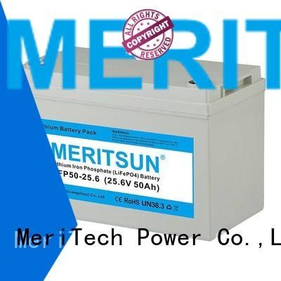 cycles control life lifepo4 battery price MERITSUN Brand