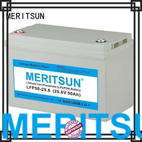 lifepo4 1c lifepo4 battery 200ah MERITSUN Brand company