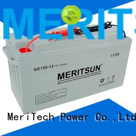 terminal flooded opzv battery front MERITSUN Brand