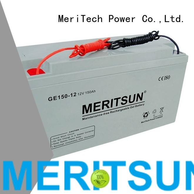 battery opzs vrla MERITSUN Brand opzv battery supplier