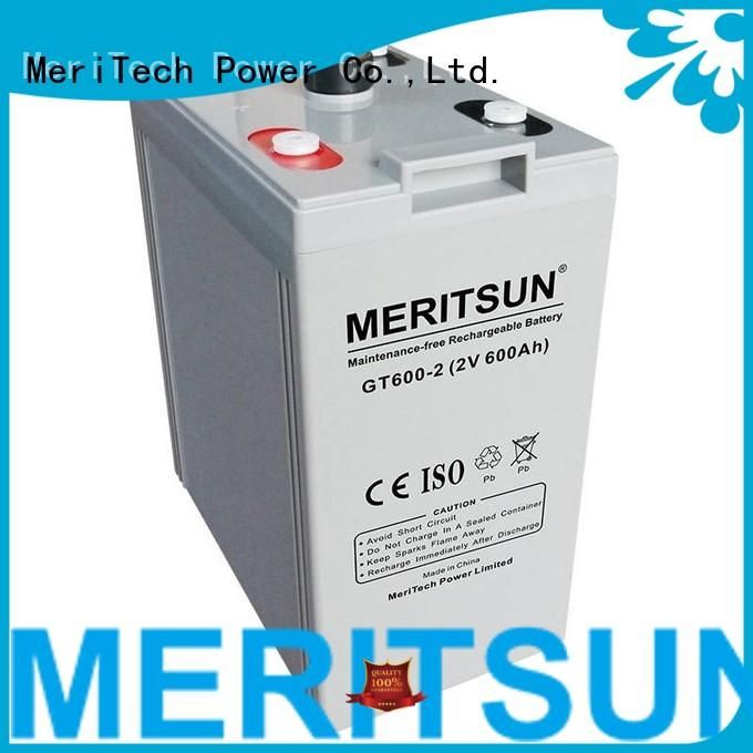 Custom telecom opzv battery tubular MERITSUN