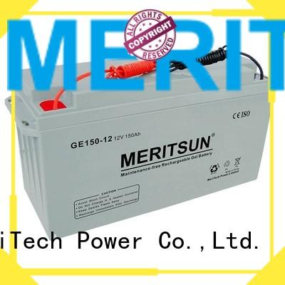 battery cycle deep OEM opzv battery MERITSUN