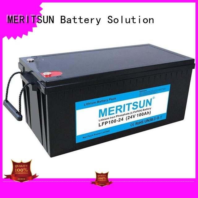 MERITSUN lithium batteries for sale customized for villa
