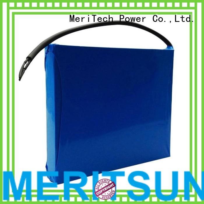 MERITSUN Brand lipo cycle solar lithium ion battery for solar street light