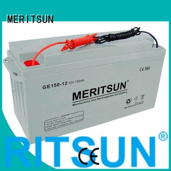 opzs opzv battery gel vrla MERITSUN