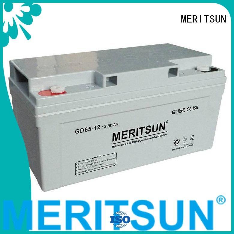 Wholesale deep front opzv battery MERITSUN Brand