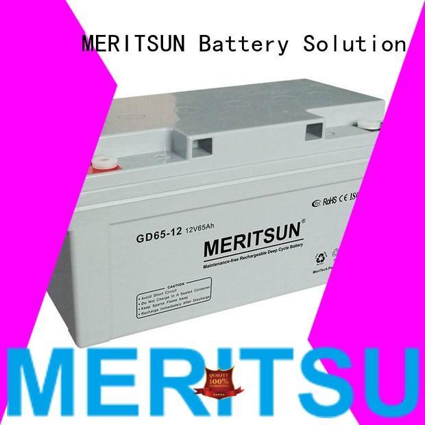 vrla gel battery vrla tubular opzv battery MERITSUN Brand
