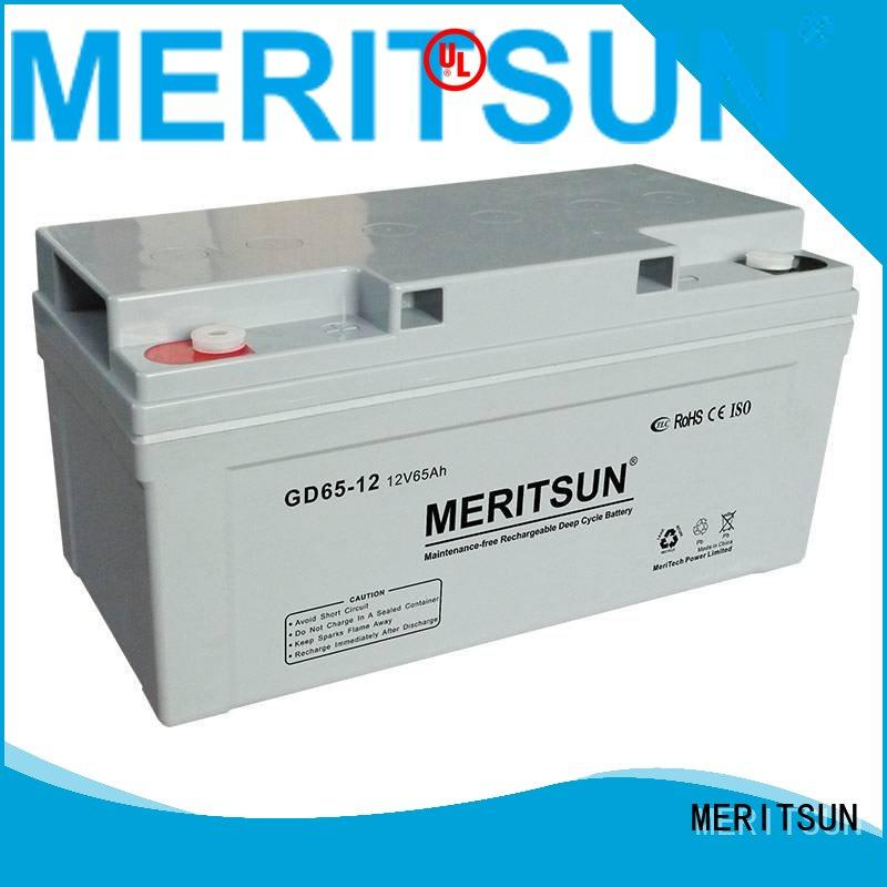 Wholesale battery vrla opzv battery MERITSUN Brand