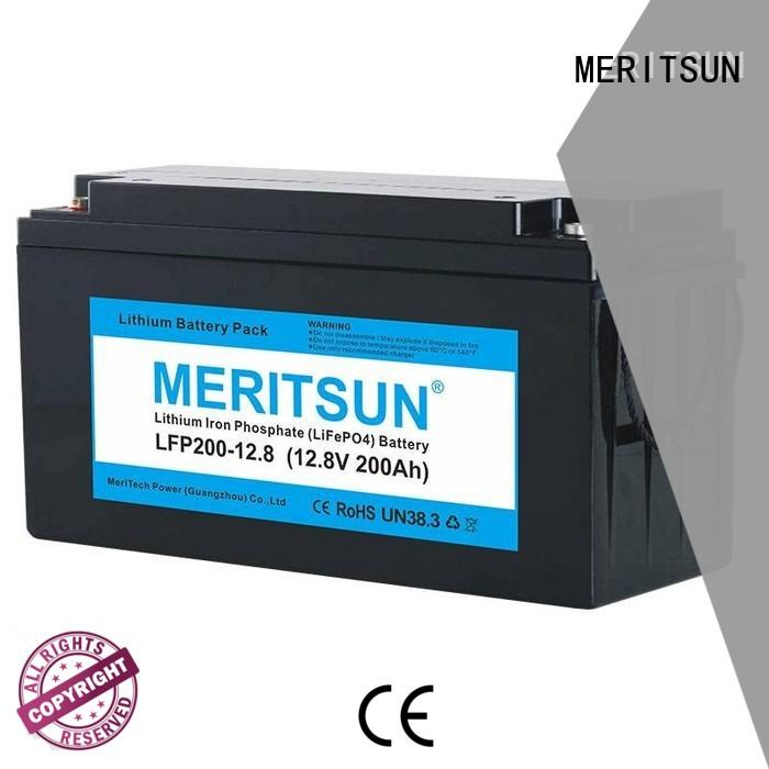 MERITSUN lithium batteries for sale wholesale for home use