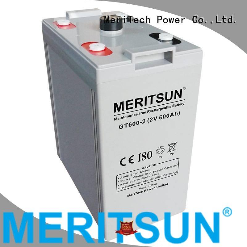 terminal gel opzs opzv vrla gel battery MERITSUN Brand