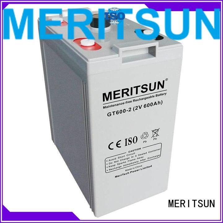 Wholesale cycle telecom opzv battery MERITSUN Brand