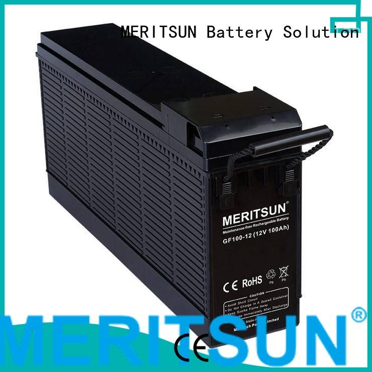 gel cycle terminal opzv battery MERITSUN
