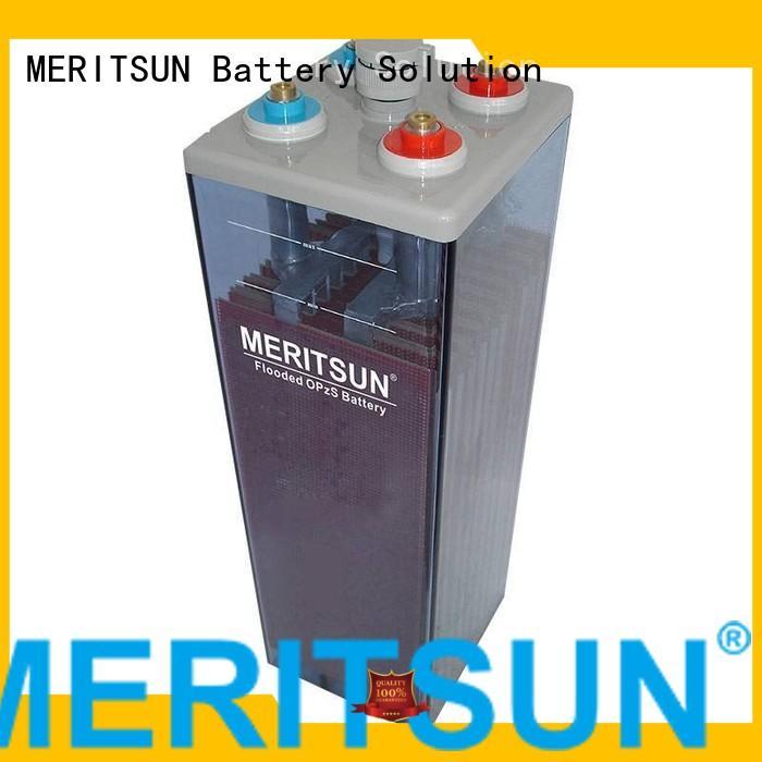 vrla gel battery telecom opzv Warranty MERITSUN