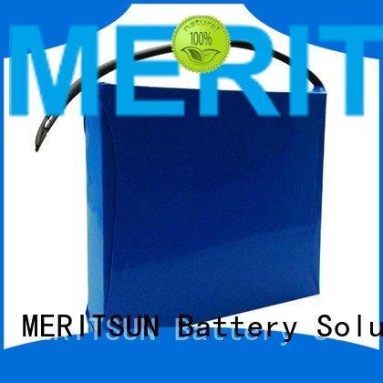 lithium ion battery for solar street light integrated solar street light lithium battery MERITSUN