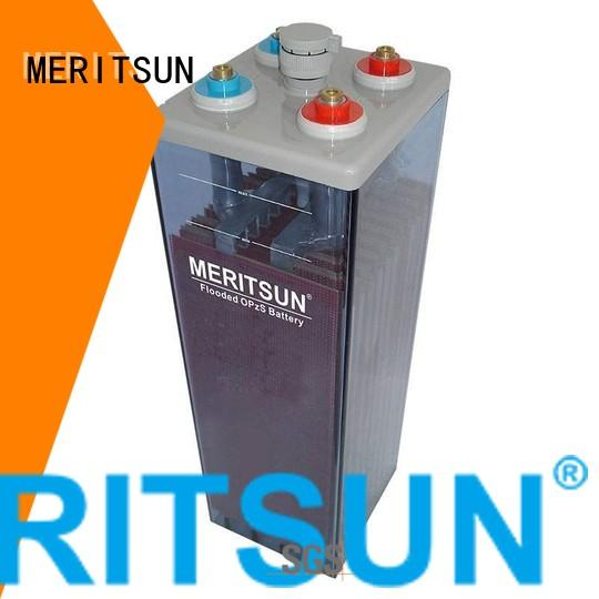MERITSUN Brand opzv opzs vrla gel battery deep supplier