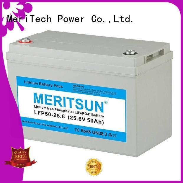 lifepo4 battery 12v 100ah for building MERITSUN