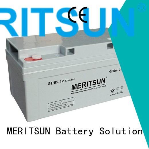 MERITSUN Brand front deep opzv battery terminal factory