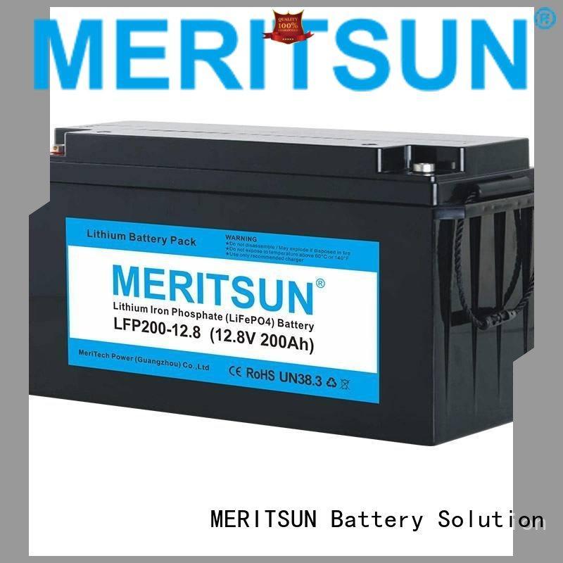 iron phosphate ion OEM lifepo4 battery MERITSUN
