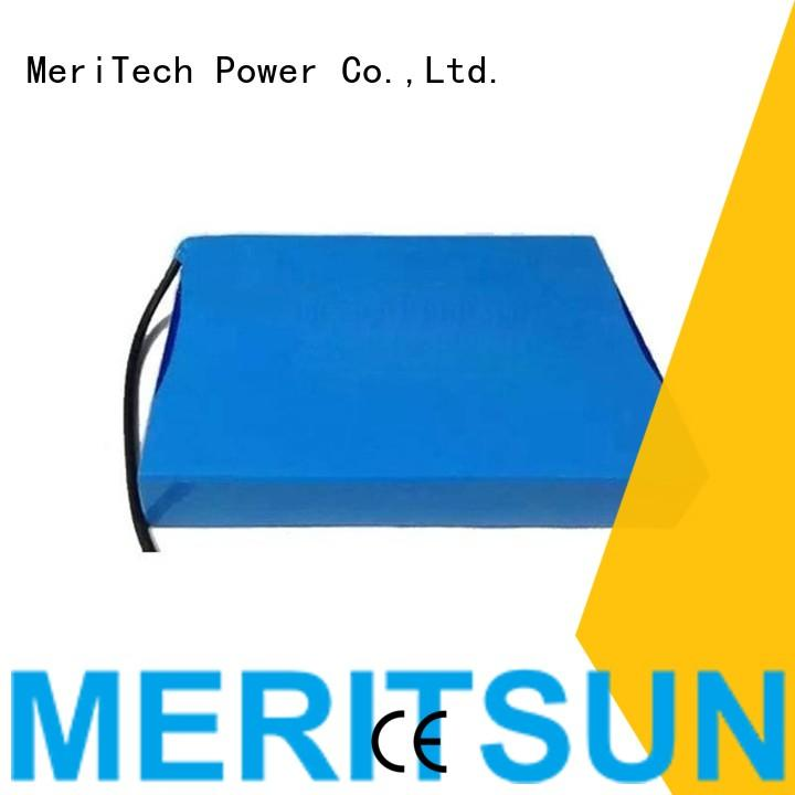 MERITSUN low-carbon lithium battery for solar lights factory direct supply for roadway