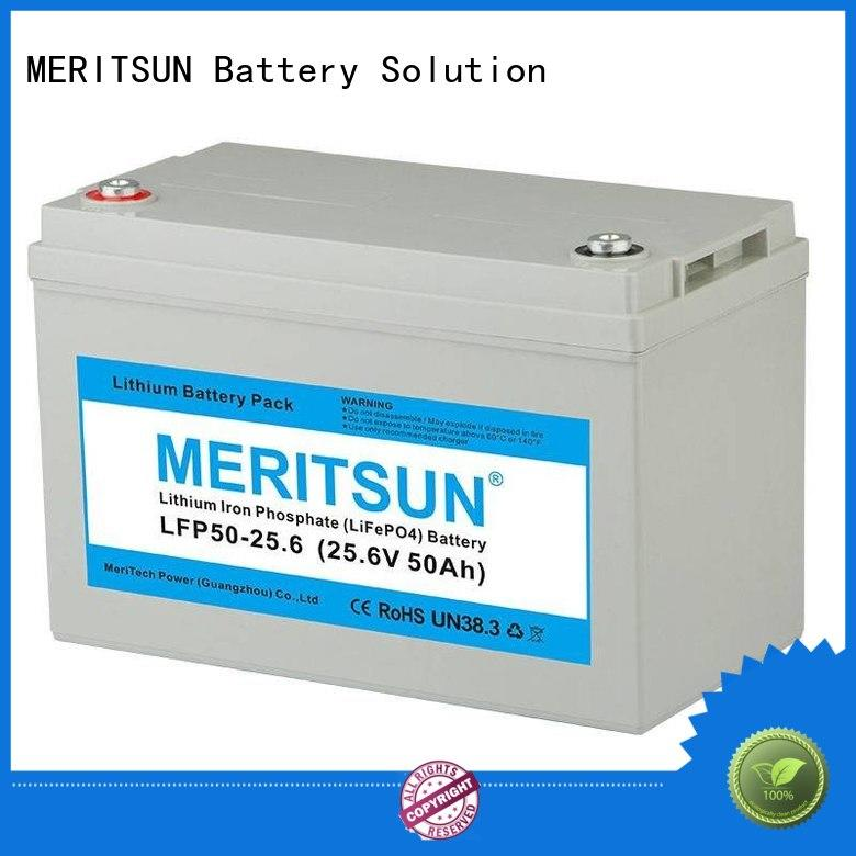 lithium battery price phosphate for house MERITSUN