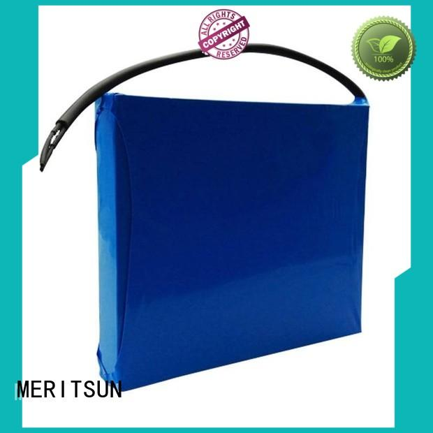 MERITSUN ABS shell material solar street lamp factory direct supply for garden