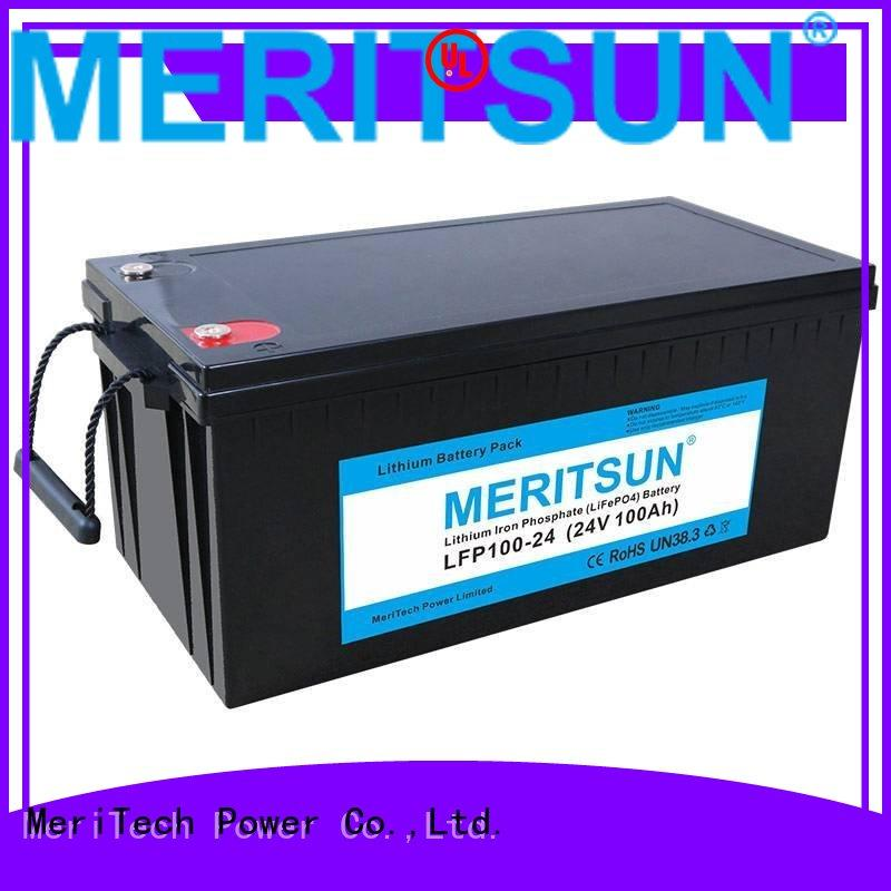 app lithium lifepo4 battery solar MERITSUN