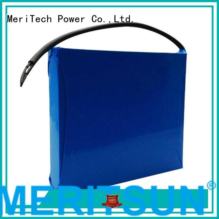 light 12v lithium ion battery for solar street light MERITSUN manufacture