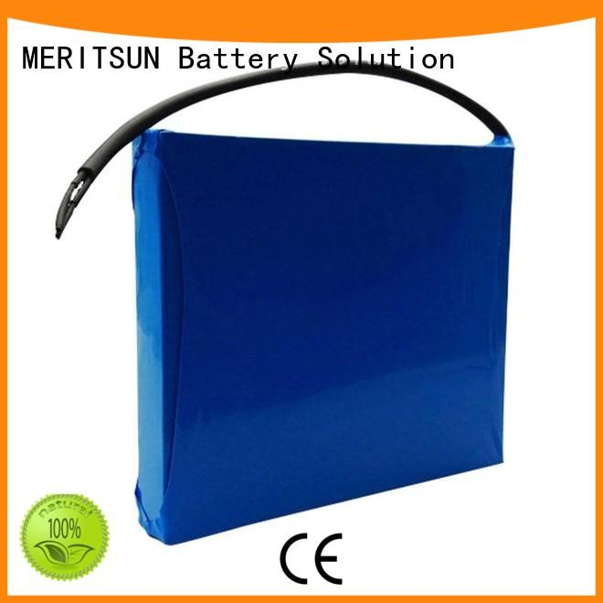 MERITSUN solar street light with battery factory direct supply outdoor