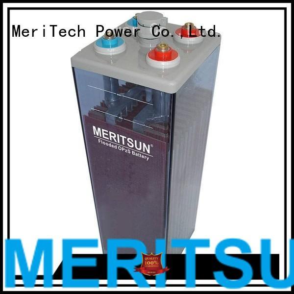 MERITSUN Brand opzv terminal vrla gel battery battery