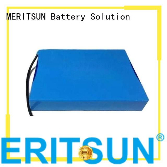 all rechargeable solar street light lithium battery cycle MERITSUN Brand
