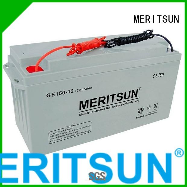 Quality MERITSUN Brand vrla gel battery gel