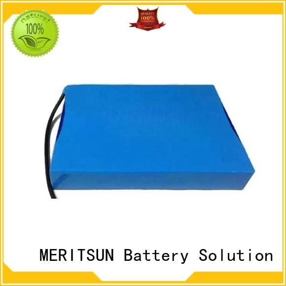 rechargeable battery for solar street light factory direct supply for LED light MERITSUN